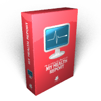 My Health Report box icon