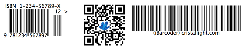 barcode generated by iBarcoder
