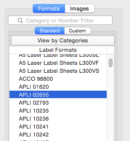Labels and Databases - Print labels from database 1