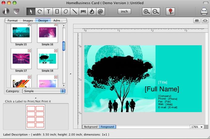 business card design software free download full version
